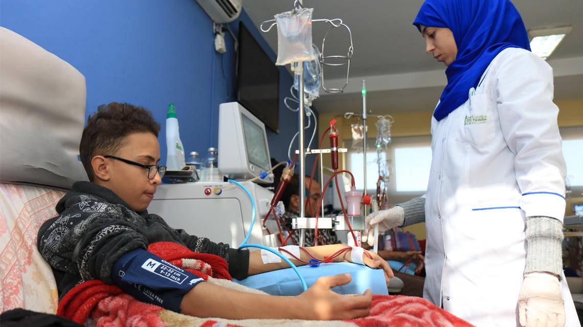 fondation amal pour l'hémodialyse