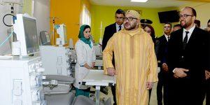 INDH : Le Roi inaugure un centre d'hémodialyse à Bouskoura